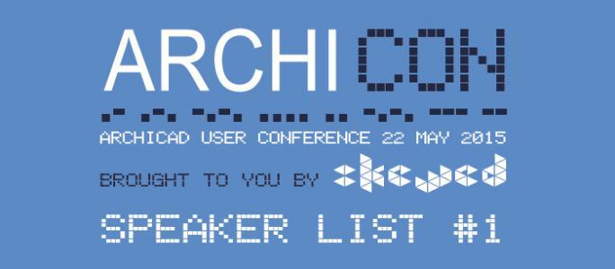 ARCHICON Speaker Announcement